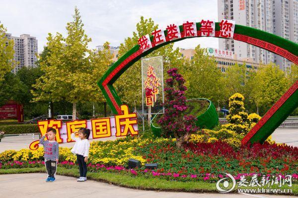 孙水公园国庆展区一角 (2)