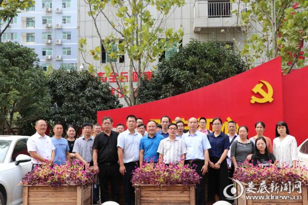9月26日,新化县赴祁阳县学习创建健康促进县