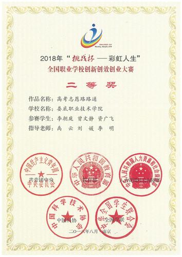 2-3全国二等奖奖状