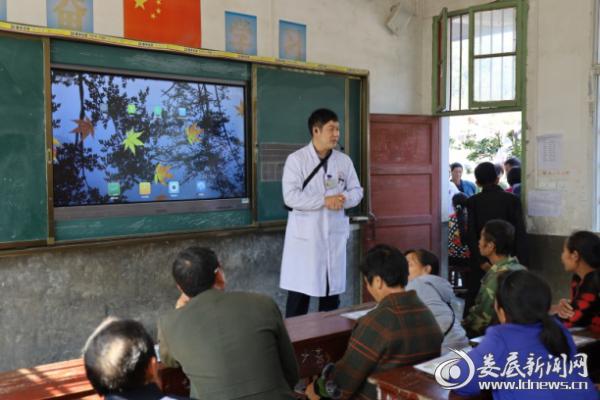 新化县人民医院下乡义诊暖人心健康扶贫惠民生