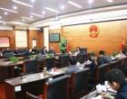 婁底市五屆人大常委會第55次主任會議召開