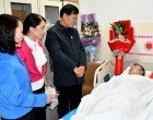 世界儿童日,娄底造血干细胞捐献志愿者贺仁杰为生命接力!
