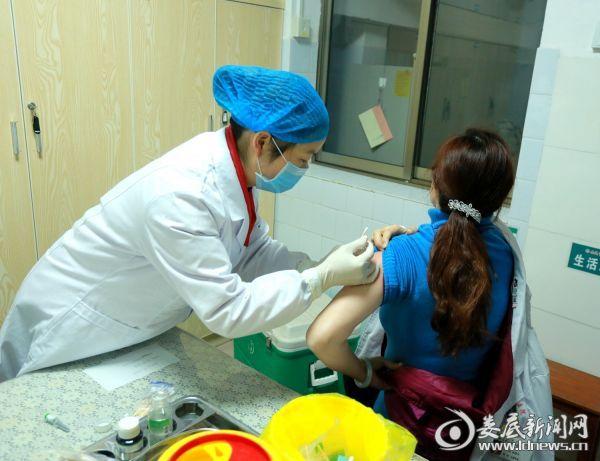 疫苗接种现场