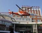 """娄底市第一人民医院开启""""空中通道""""转运危重患者"""