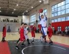 """大埠桥街道办事处举办首届""""美丽乡村杯""""篮球友谊赛"""