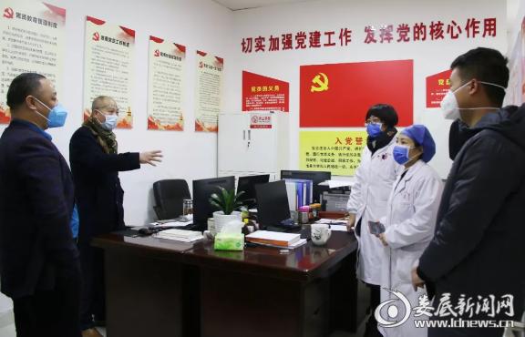 (医院副院长刘碧微及时与车站沟通,根据列车时间调整医护排班)
