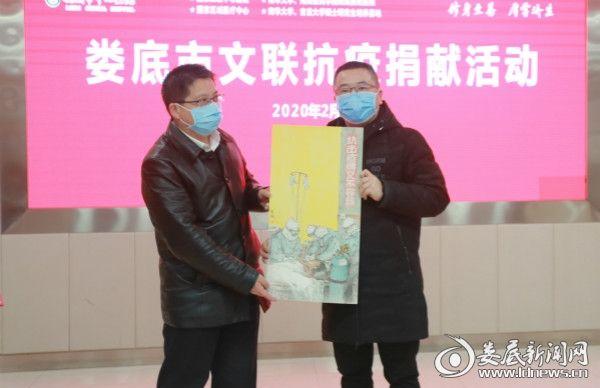湖南省美术家协会会员,市美术家协会秘书长贺凯《义不容辞》