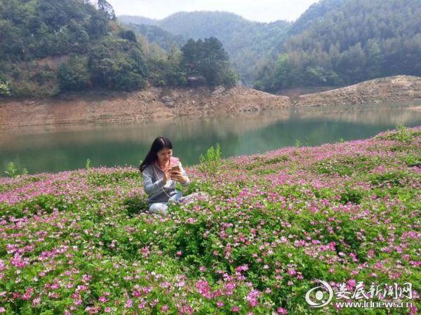 香山村内的美景让人陶醉