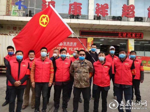 """(3月15日,龙塘镇团委组织青年志愿者开展""""学雷锋""""活动)"""