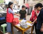 娄星区贤童社区全面开展城区老旧小区改造宣传活动