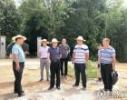 娄底经开区领导到大埠桥调研村(社区)综合服务平台建设