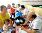 冷水江市錫礦山中心醫院開展免費義診助力健康扶貧