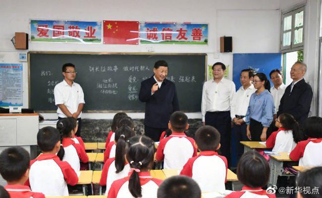 《【恒达代理官网】习近平勉励乡村小学生:努力成长为中华民族的参天大树》