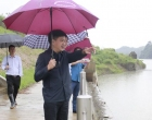 娄底市领导赴新化县青峰河开展巡河工作