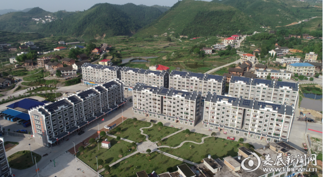 """古塘乡易地扶贫搬迁集中安置区为搬迁户建立""""幸福家园"""