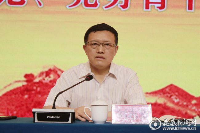 (市国资委党委委员、副主任刘志贤作开班动员讲话)