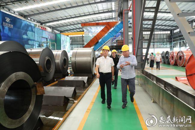 1(考察不锈钢生产企业)