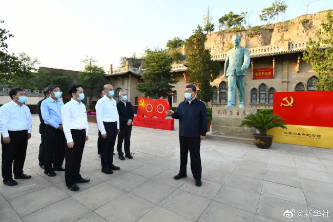 《【凤凰联盟注册平台】习近平在陕西榆林考察调研》