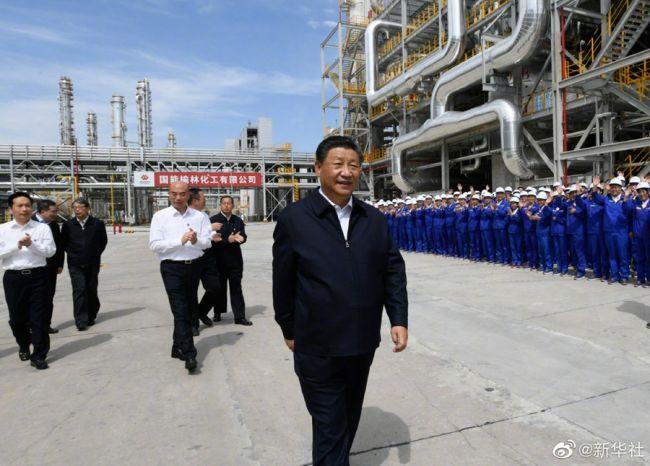《【凤凰联盟代理平台】习近平谈能源产业:走绿色低碳发展道路》