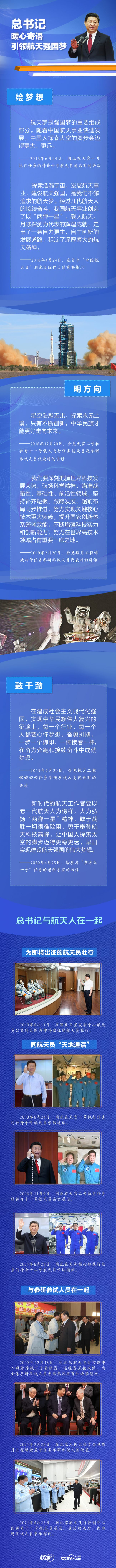 《【凤凰联盟注册平台】联播+ 总书记暖心寄语引领航天强国梦》