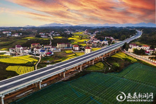 华常高速娄底经开区中阳大桥