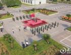 娄底市委市政府举行升国旗仪式 庆祝中华人民共和国成立72周年